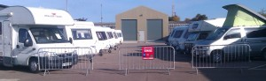 Sudbury Caravans Yard photo