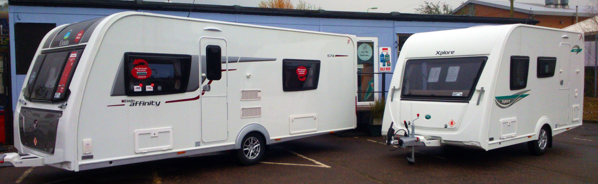 Caravan sales, service and repairs Sudbury, Suffolk